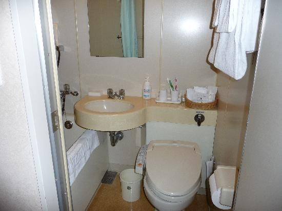 Karasuma Kyoto Hotel: bathroom