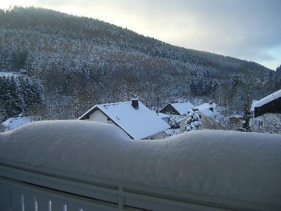 Pension Voss: Aussicht vom Balkon