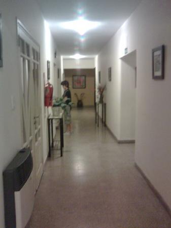 Art Deco Victoria: pasillo del hotel