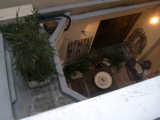 أجورا: What a view!!! We booked Hotel Abbatial Saint Germain but got the sister hotel when we arrived -