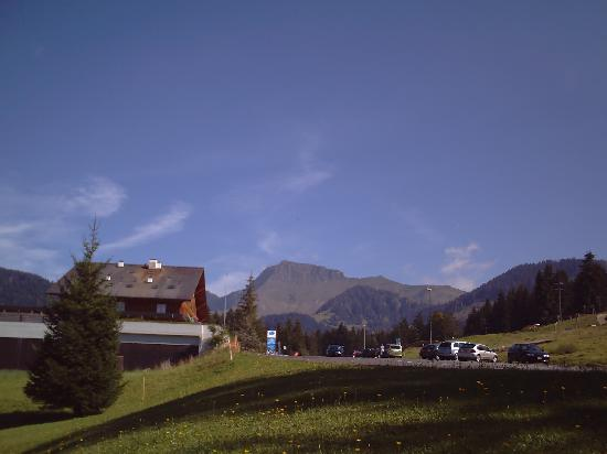 The Ermitage from the side, Les Paccots, Switzerland, September, 2007