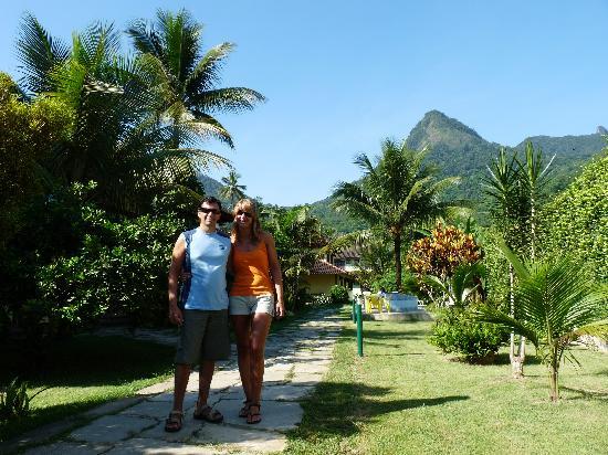 Pousada Recreio da Praia: Sector en donde su ubican los cuartos