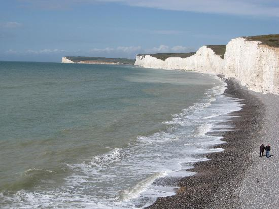 Bay Lodge Guest House: The Seven Sisters cliffs