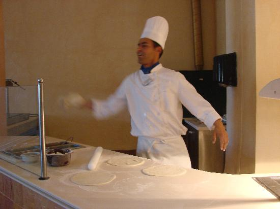 Safira Palms Hotel & Spa: pizza
