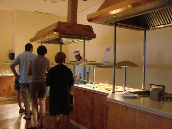Safira Palms Hotel & Spa: buffet