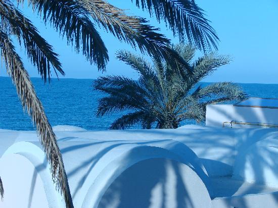 Safira Palms Hotel & Spa: vue de notre chambre
