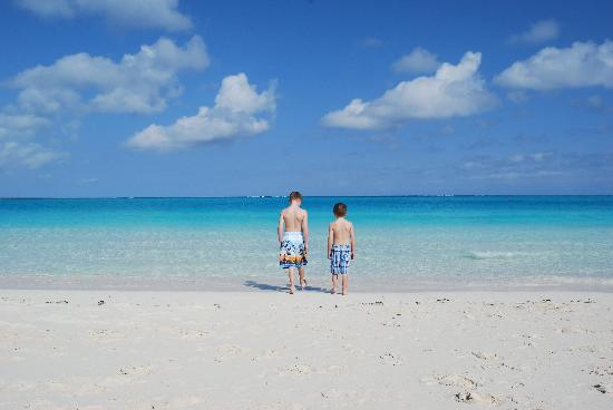 The Sands at Grace Bay: Calm waters, perfect for young kids