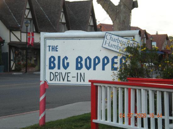 Big Bopper Drive-In: Big Bopper sign