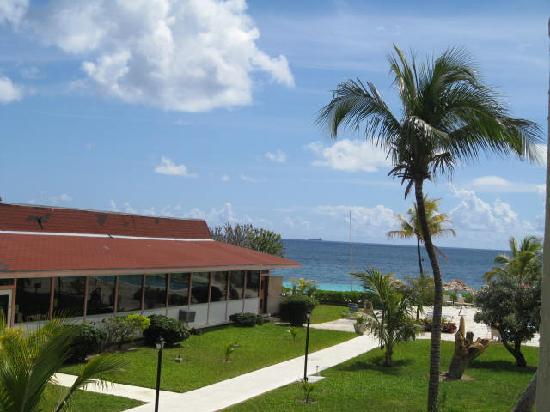Coral Beach Hotel and Condos: view from balcony  3216
