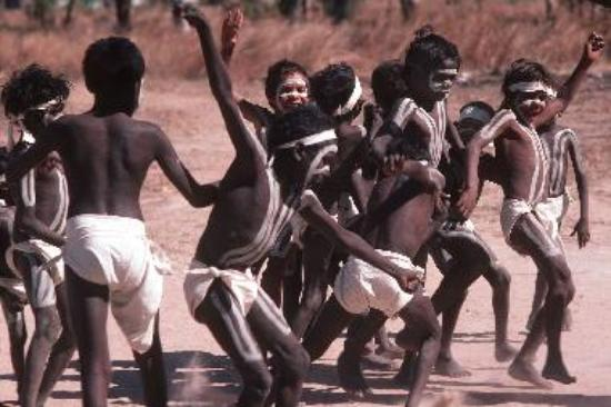 Traditional dancing at Barunga Festival
