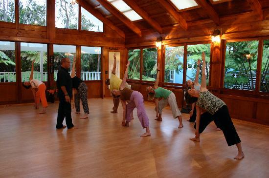 Volcano Guest House: Yoga dojo