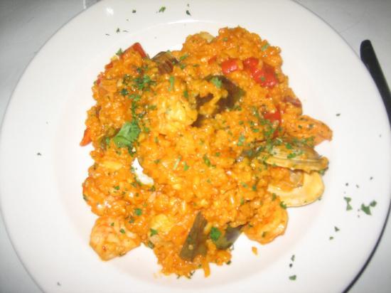 Aura Restaurant: Total mush.
