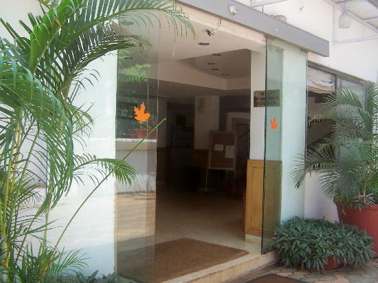 Mapple Viva Goa : Entrance to Mapple Viva