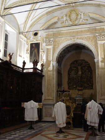 Chiesa del Gesu: Casa Professa - la sagrestia