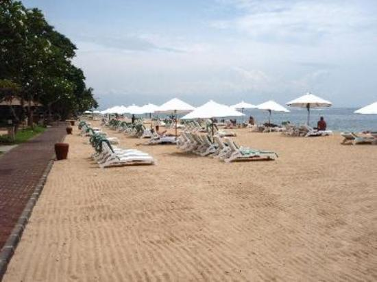 Beach at Hyatt Sanur