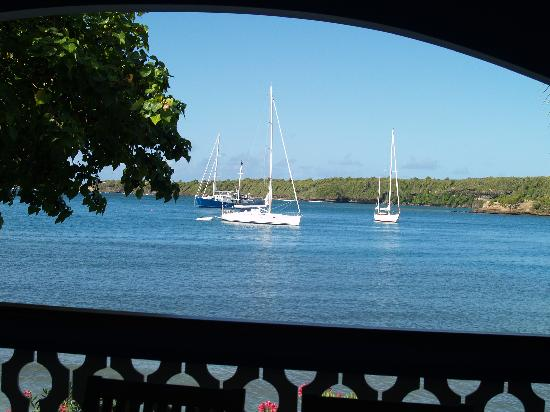 Bel Air Plantation Resort: View whilst dining