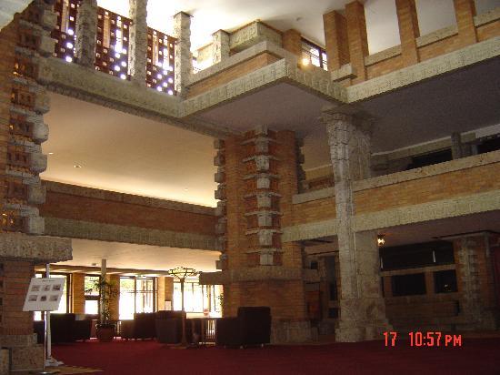 Museum Meijimura : Inside the Imperial Palace Hotel lobby