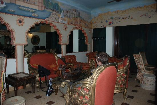 Hotel Pearl Palace: Internet room