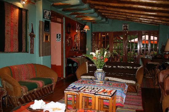 Hosteria Rumichaca: Dining Area
