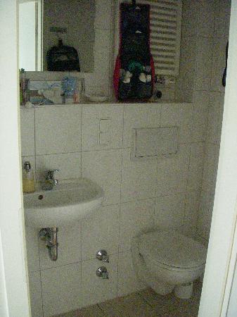 Hotel Auerstein Heidelberg: bathroom