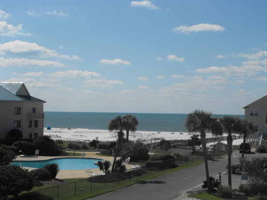Gulf Shores Plantation: Pictures from our balcony