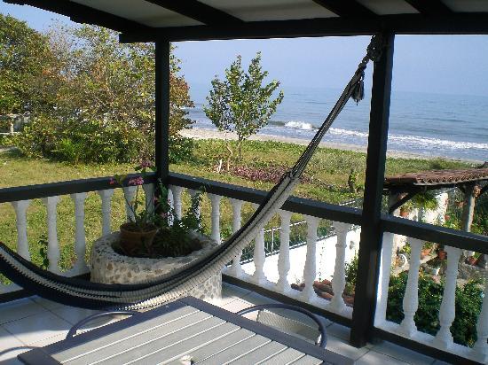 Villa Helen's Hotel & Restaurant: Balcony and View