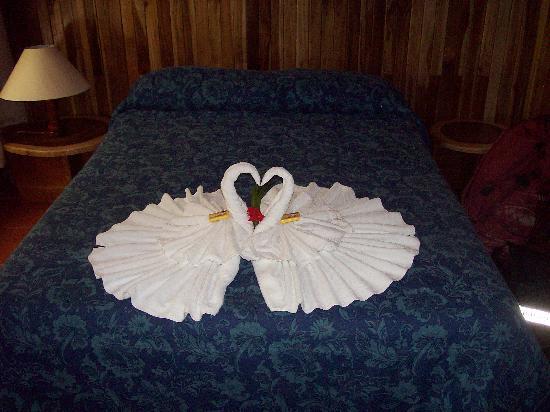 Mariposa Bed & Breakfast: Towel Deco