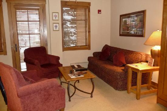 Mountain Thunder Lodge: Another part of our living room