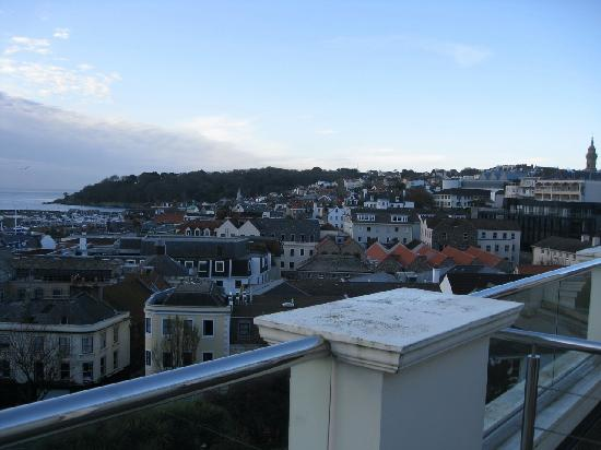 La Fregate Hotel: Dawn