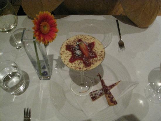 La Fregate: a scrumptious dessert