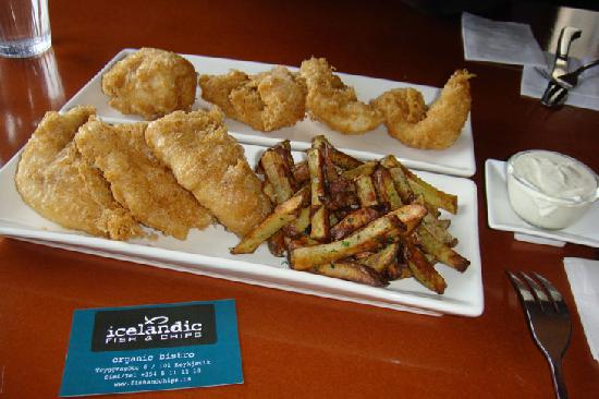 Our food halibut w chips and ling picture of for Icelandic fish and chips