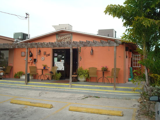 Chokoloskee, Φλόριντα: The Havana Cafe in Everglades City, FL