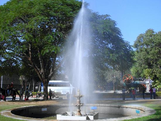 Fountain @ Pinjore Garden