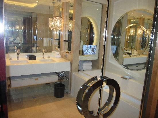 Definitely a glitzy bathroom picture of crown towers for Bathrooms r us melbourne