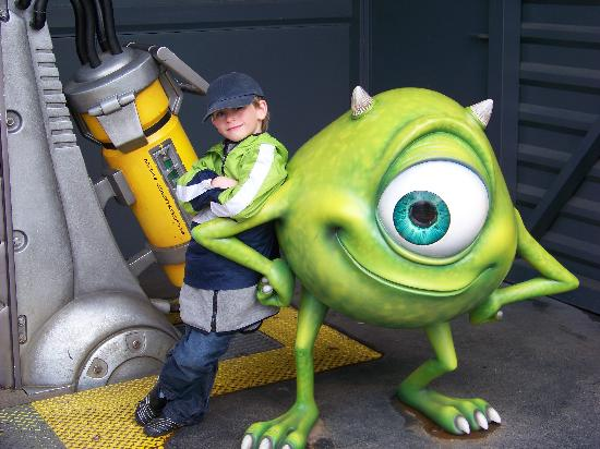Disneyland Park: HARRISON+MONSTERS INC