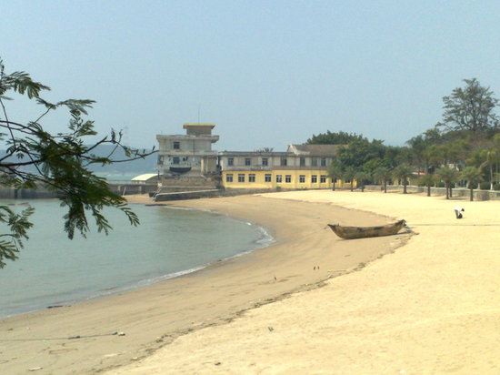 Xiamen, China: Unas de sus playas.