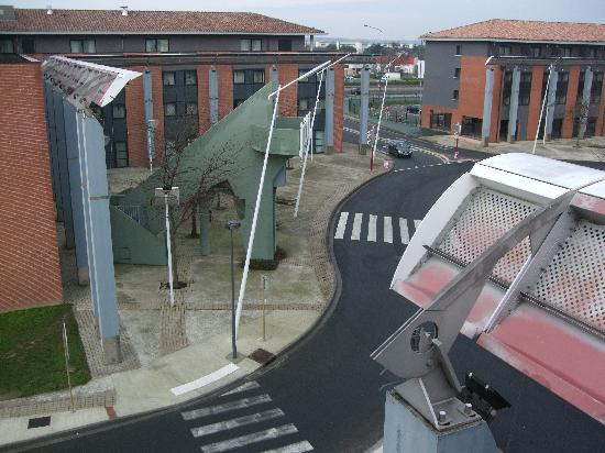 Holiday Inn Express Toulouse Airport: Roof top view from hotel bedroom