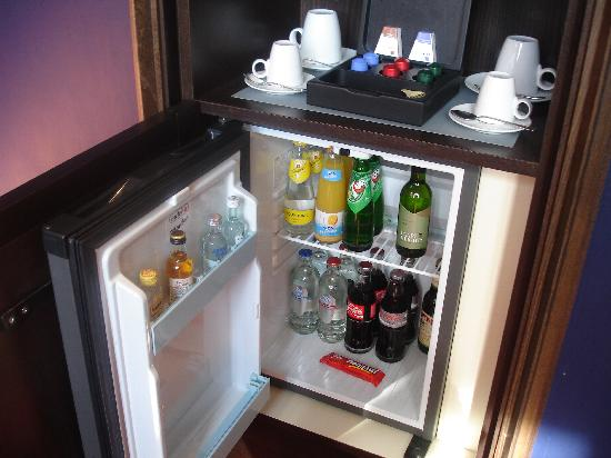 Grand Hotel Amrath Amsterdam: Mini bar gratis