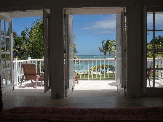 Tortuga Bay, Puntacana Resort & Club: view from bed