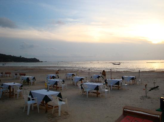 Longbay Resort: En restaurang på stranden med fin utsikt
