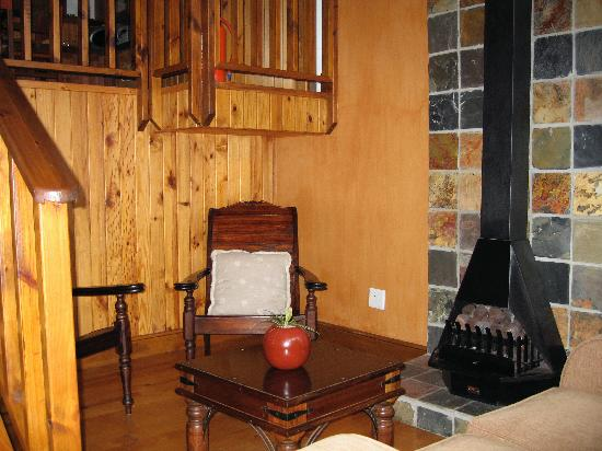 Boardwalk Lodge: Part of living area