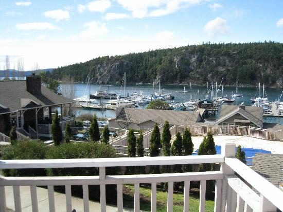 WorldMark Deer Harbor: Deluxe Cottage - view from the front deck