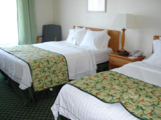 Fairfield Inn & Suites Wheeling-St. Clairsville, OH: Two Queens