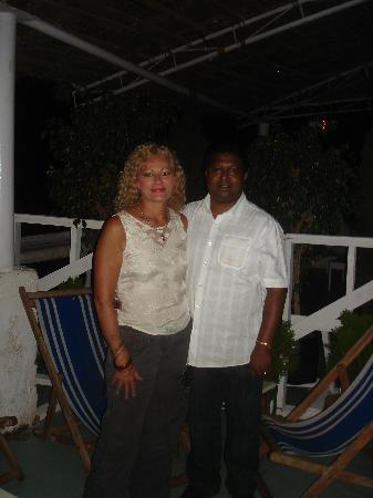 Lucia Beach Guest House: Kenny and I