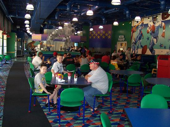 Food Court All Star Sports