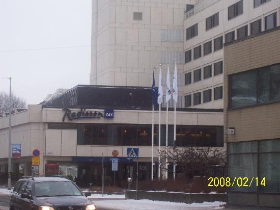Radisson Blu Marina Palace Hotel Turku Finlande Voir