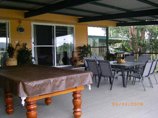 Clandulla Cottages, Beaudesert: Entertainment Area