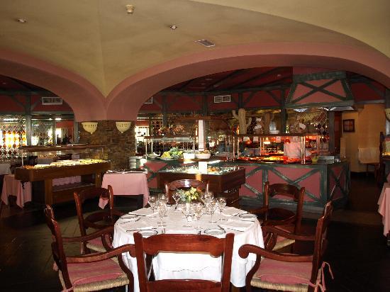 Hotel Ziryab: the restaurant buffet