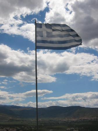Irini Filoxenia Apartments: greek flag