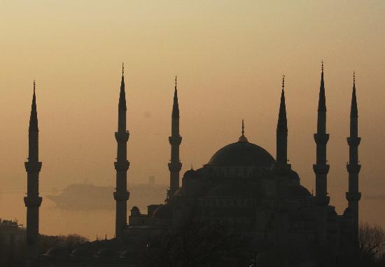 Hotel Mina: Blaue Moschee